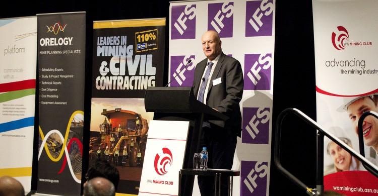 Stuart Matthews, WA Mining Club